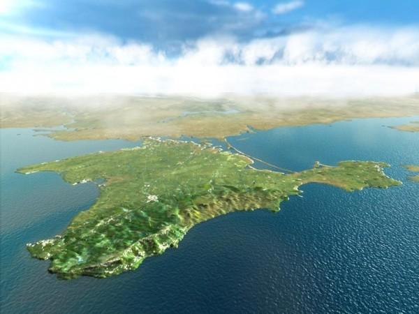 Ка фото показан вид на Крым