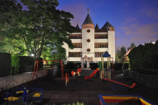 Детская площадка санатория