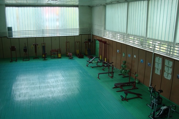Тренажерный зал санатория «Сокол»