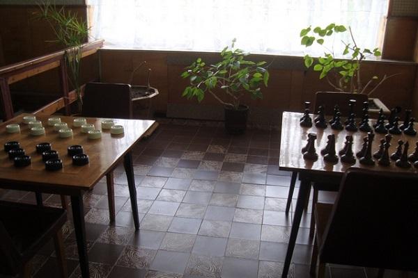 «Шахматный уголок» санатория