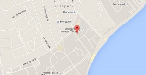 Местоположение лечебного центра на карте