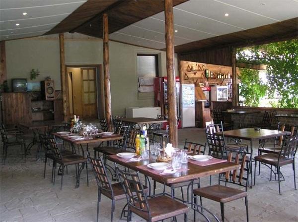 Кафе отеля «Бастион»