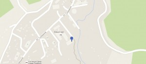 Местоположение пансионата «Новый свет» на карте