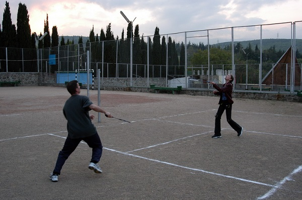 Теннисный корт пансионата «Горизонт»