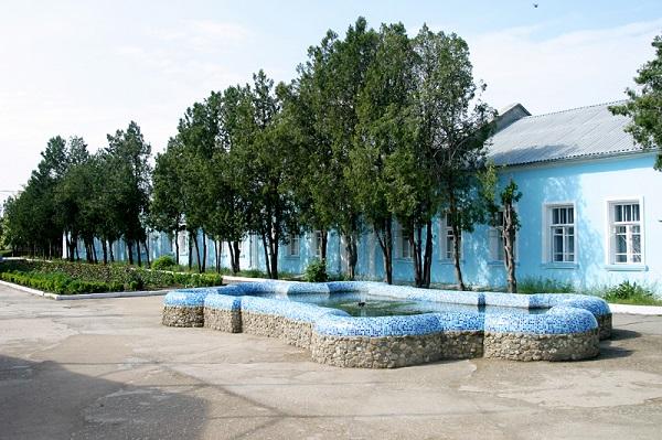 Территория санатория «Искра»