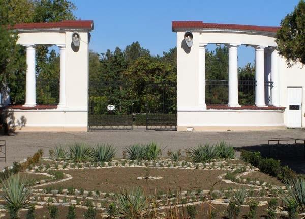Санаторий «Искра» в Евпатории, Крым