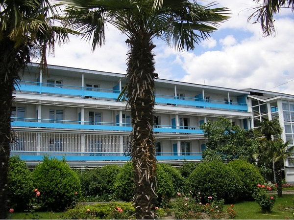 Территория санатория «Черноморье»