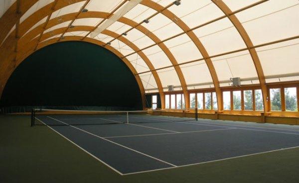 Теннисный корт санатория «Нижняя Ореанда»