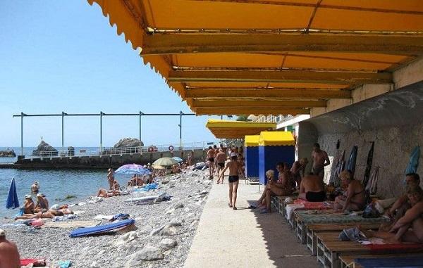 "Пляж санатория ""Симеиз"""