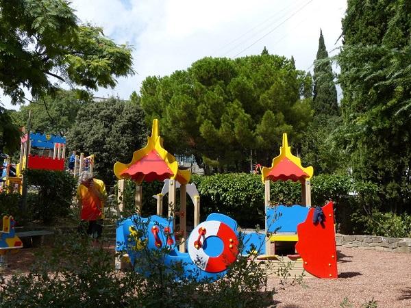 Детская игровая площадка здравницы
