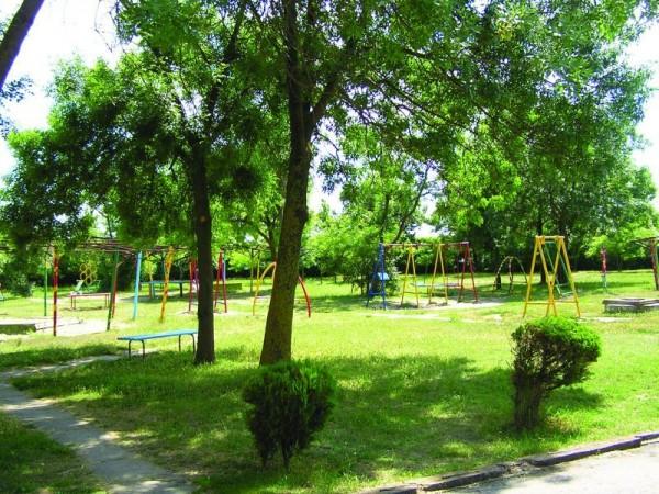 Парк в санатории Приморье