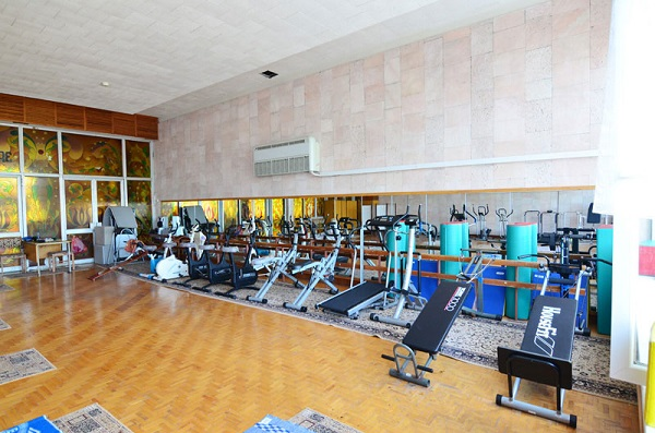 Тренажерный зал санатория