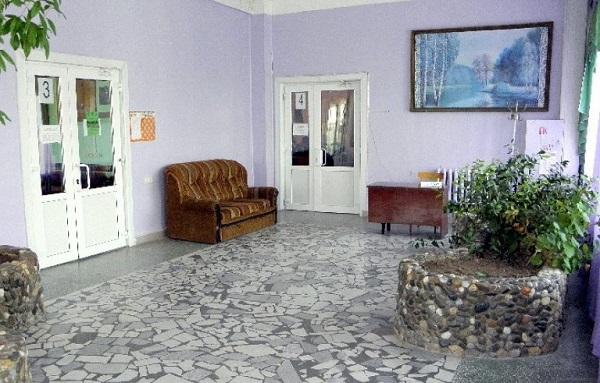 Холл санатория Фемида