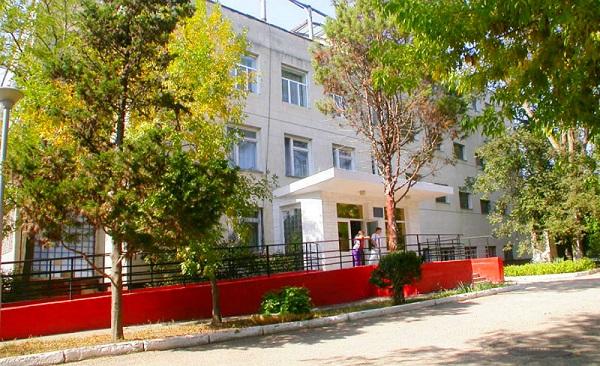Один из корпусов санатория им. Крупской