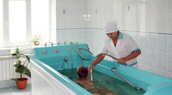 Водные лечебные процедуры