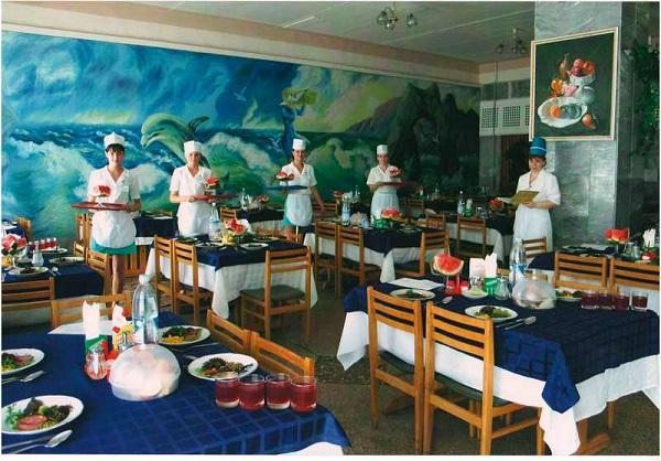 Столовая санатория «Орен-Крым»