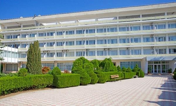 Прилегающая территория санатория Первомайский