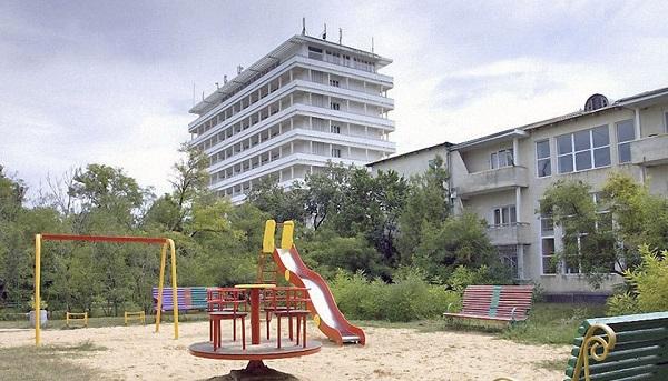 Игровая площадка санатория