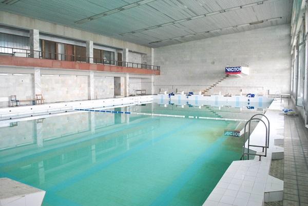 Бассейн санатория Прометей