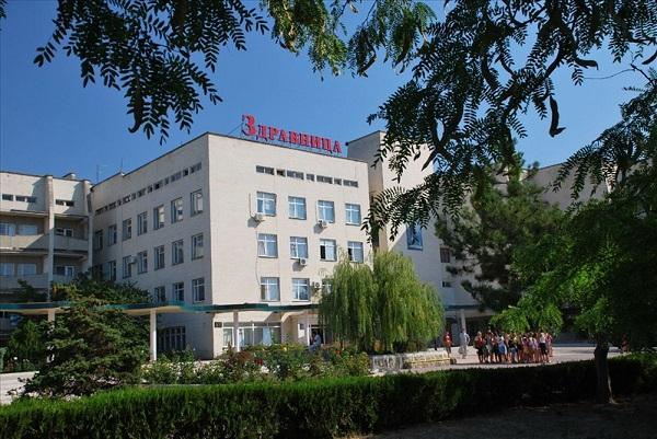 Детский санаторий «Здравница», Евпатория