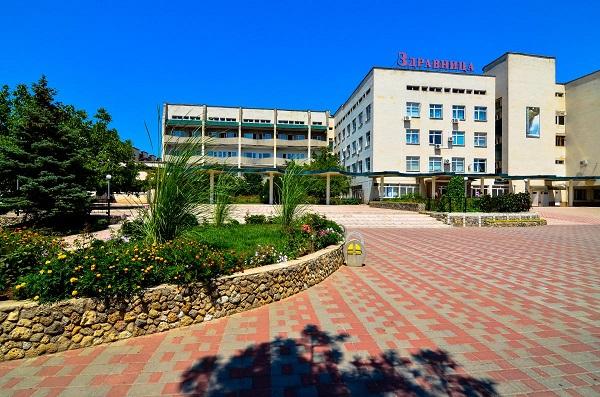 Территория санатория «Здравница»