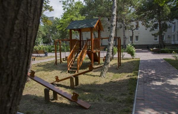Детская игровая площадка санатория