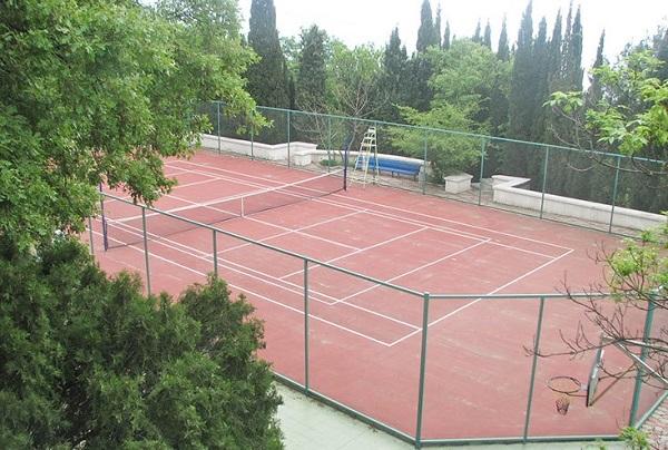 Спортивная площадка санатория