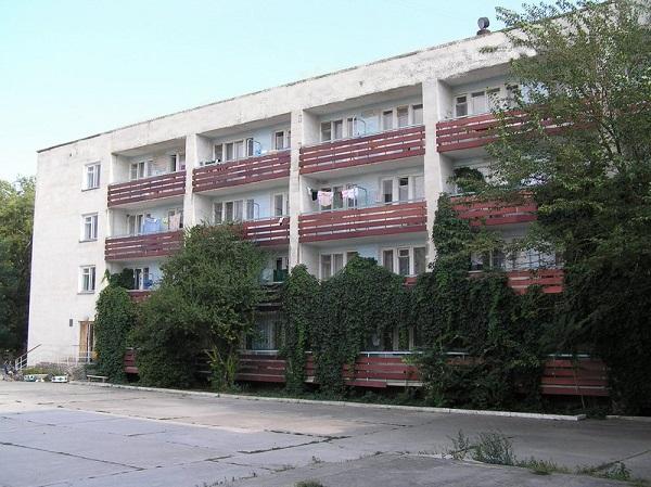 Один из корпусов санатория Чайка