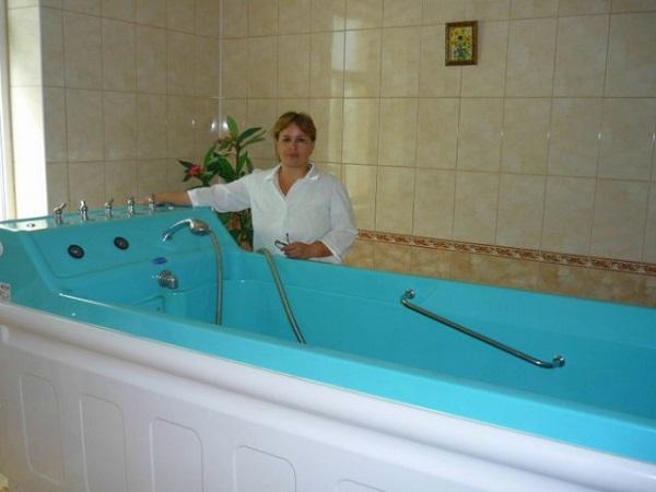 Оздоровительные ванны в санатории