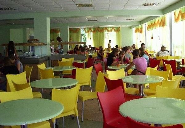 Столовая детского оздоровительного лагеря «Мандарин»