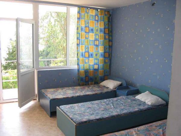 Одна из комнат в лагере