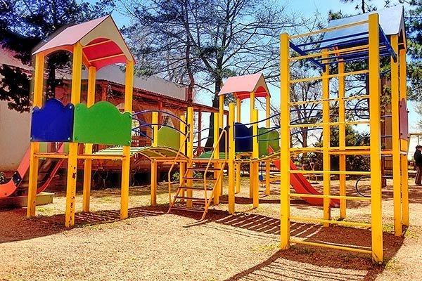 Детская площадка дома отдыха