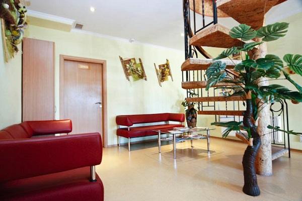 Холл гостевого дома «Дельта»