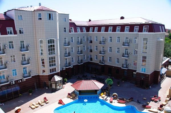 Отель «Украина Палас», Евпатория
