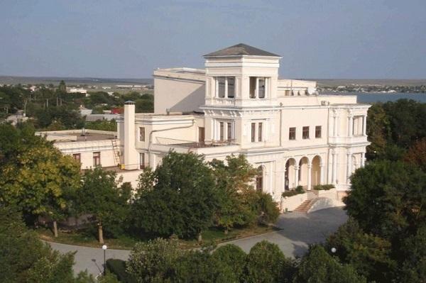 Историческое здание пансионата