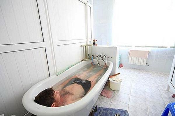 Лечебная ванна в сантории