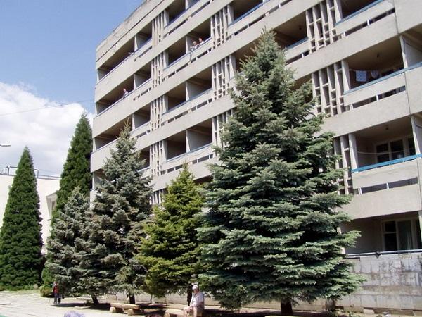 Территория санатория «Ветеран»