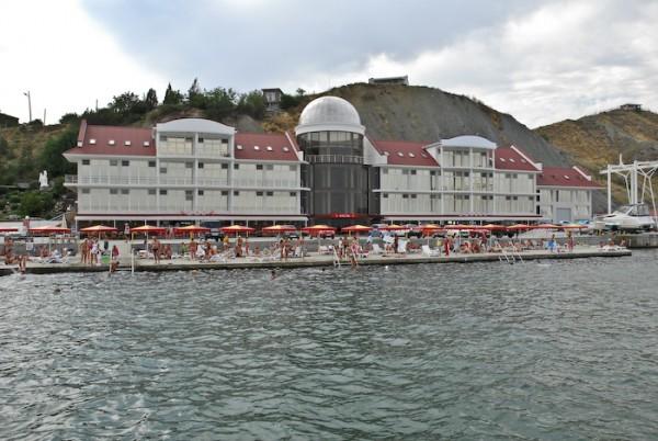 Так выглядит отель Белый Грифон