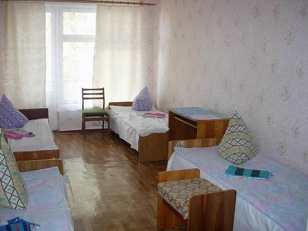 Жилая комната в лагере