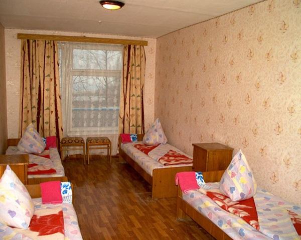 Еще одна комната для проживания детей в лагере Алькадар