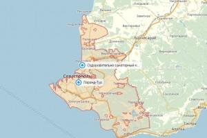 Местоположение детского лагеря на карте
