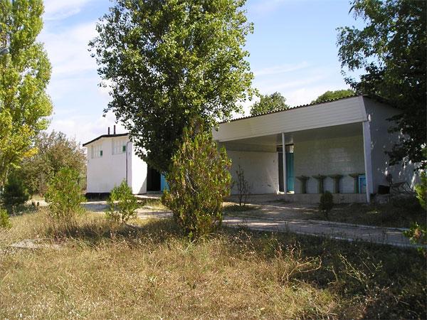Территория детского лагеря