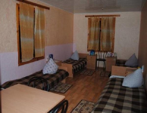 Одна из комната где живут дети в лагере