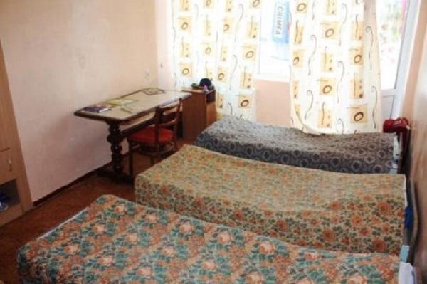 Еще одна комната, где живут дети детского лагеря Радость