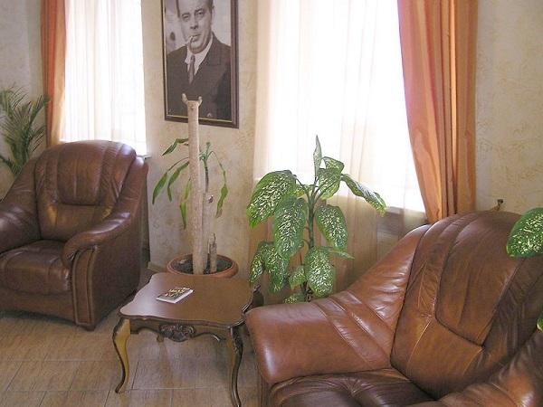 Холл гостиницы «Даккар»