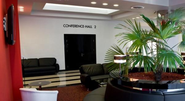 Холл гостиницы «Москва»