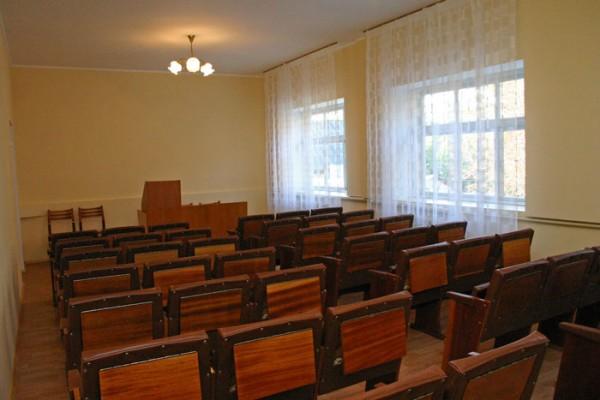 Конференц-зал в здании турбазы