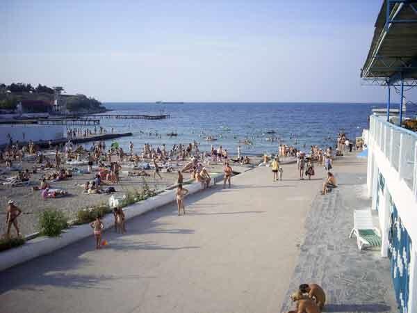 Ближайший к отелю городской пляж