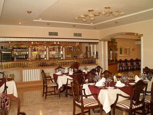 Ресторан в санатории Альбатрос