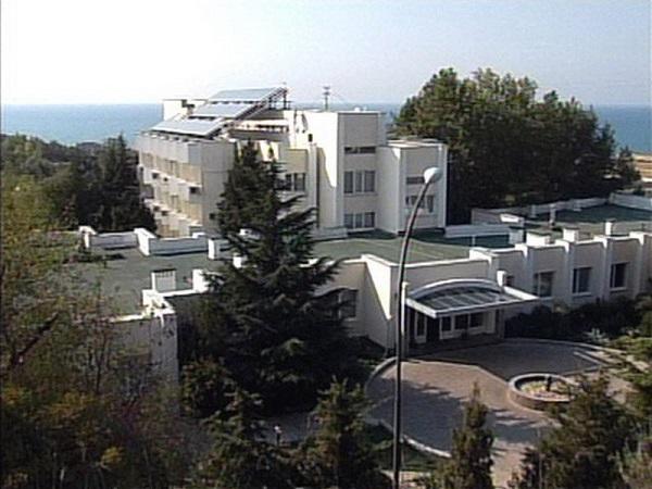 Вид на санаторий Альбатрос сверху